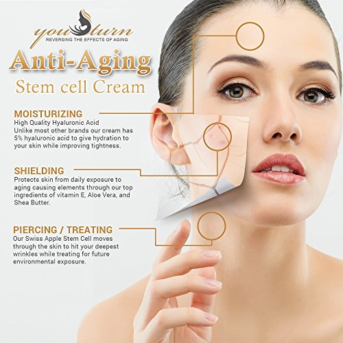 Stem Cell Therapy Anti Aging Face Cream Daily Moisturizer