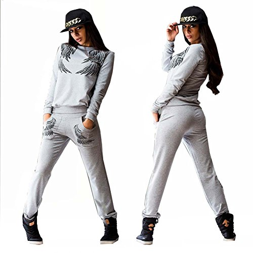 Forlisea-Womens-Leisure-2-Pieces-Fashion-Pullovers-Sport-Tracksuit-Sweatsuit