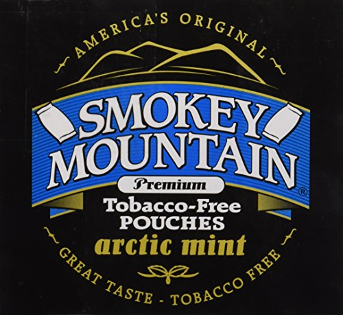 UPC 087273017256, Smokey Mountain Snuff 10 Can Box 1oz cans(Arctic Mint Pouches)
