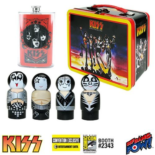 KISS Destroyer Tin Tote Gift Set - Convention Exclusive (Pin Destroyer)