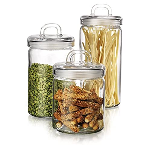 Storage Canisters for Kitchen Counter Amazoncom