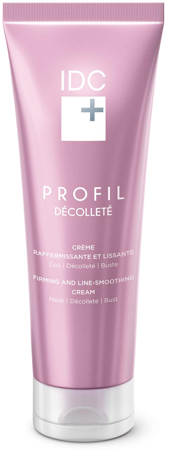 Profil Décolleté – Firming and Corrective Anti-Wrinkle Chest Moisturizer With REGEN(16) Technology & Replenishing Complex – Firming Neck Cream With Anti-Aging Properties For Smooth, Toned and Youthful Skin IDC