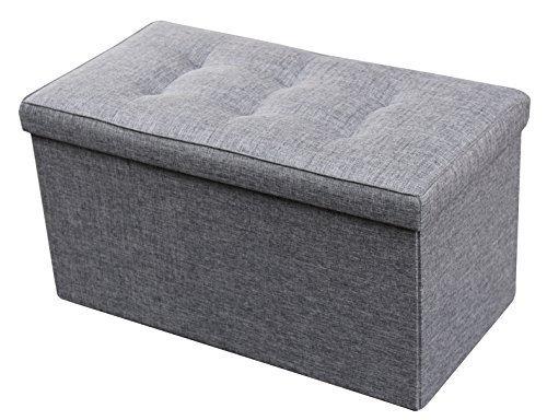Microfiber Cube Footstool - 8
