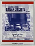 img - for The Analysis & Design of Linear Circuits by Thomas Roland E./ Rosa Albert J./ Toussa (2010-08-01) book / textbook / text book