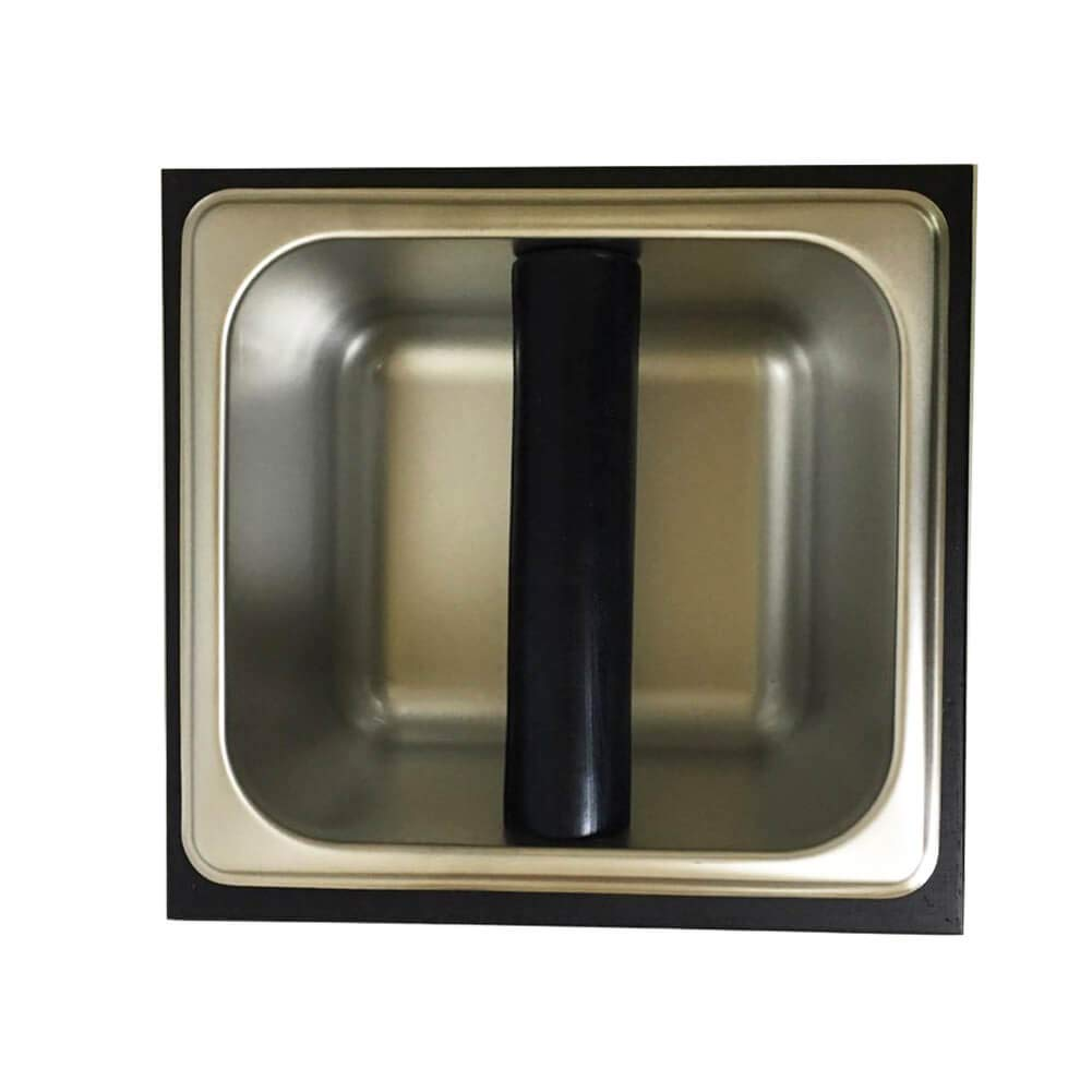 Serendipity Wood Coffee Knock Box with Stainless Steel Canister (Small) by Serendipity (Image #3)