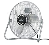 iLIVING ILG8F12 3-Speed High Velocity Floor Fan, 12-Inch by Dr Heater USA