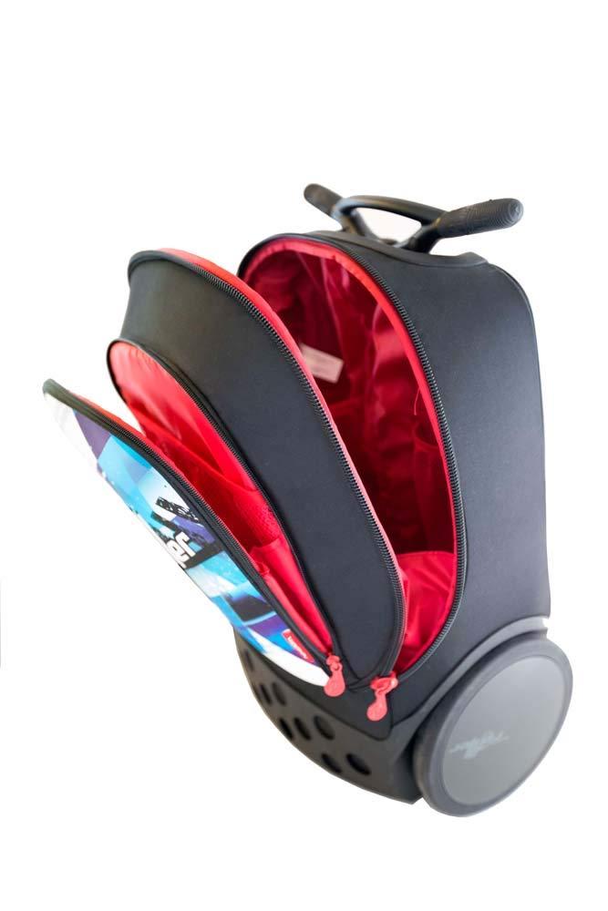 Mochila Trolley Roller XL Nikidom Personalizable: Amazon.es: Oficina y papelería