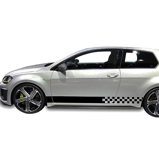 Amazon.com: Bubbles Designs 2X Black Decal Sticker Compatible with Volkswagen VW Golf: Automotive