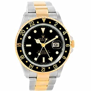 Rolex GMT Master automatic-self-wind mens Watch 16713 (Certified Pre-owned)