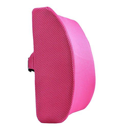 M MOCHOHOME Memory Foam Lumbar Support Back Cushion with 3D