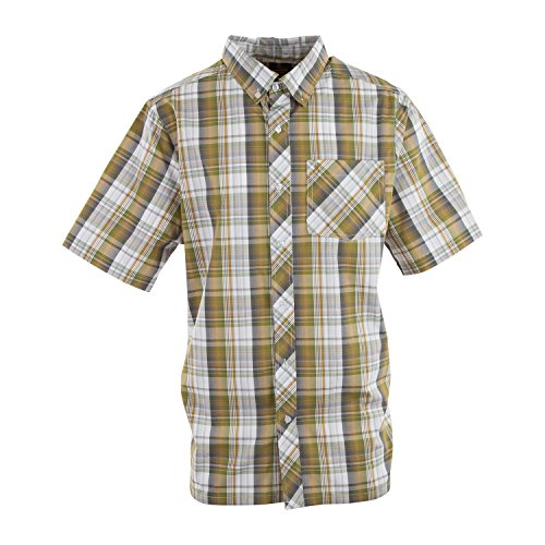 - Browning Mens Westcott Shirt, Ecru Olive, Extra Large, A000330320105