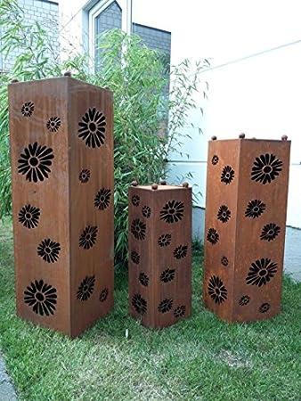 Jardín Inspiration Decoración bloque columna soporte para brasero ...
