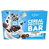Quest Nutrtion Beyond Cereal Protein Bar, Chocolate, 12g Protein, 2g Net Carbs, 110 Cals, Low Carb, Gluten Free, Soy Free, 1.34oz Bar, 15 Count