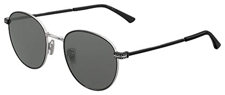 a6483ee5b32 Sunglasses Jimmy Choo Henri S 0807 Black IR gray blue lens  Amazon.co.uk   Clothing