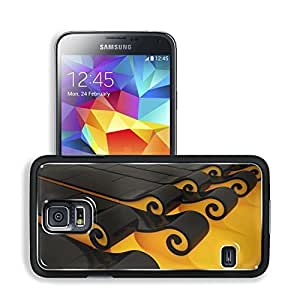 3D View Computers Roll Tsunami Art Samsung Galaxy S5 SM-G900 Snap Cover Premium Aluminium Design Back Plate Case Open Ports Customized Made to Order Support Ready 5 8/16 Inch (140mm) X 3 2/16 Inch (80mm) X 11/16 Inch (17mm) MSD S5 Professional Cases Acces
