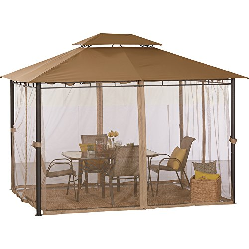 Deluxe Patio Gazebo — 10ft. x 12ft. -  Kotulas, K1210GG