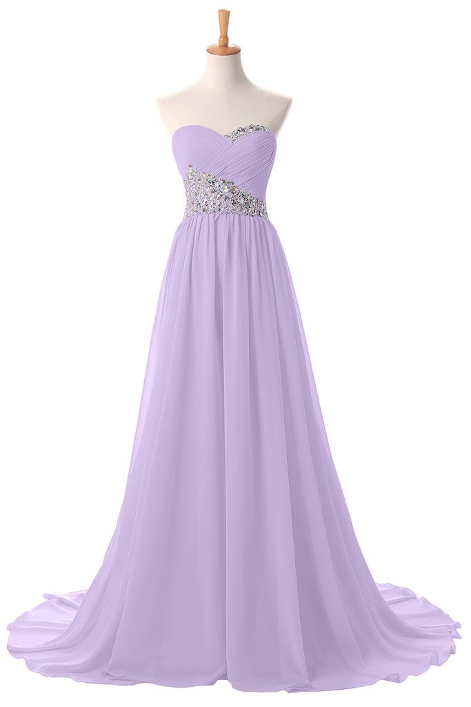 Sunvary New Sweetheart Pageant Maxi Summer Wedding Prom Reception Bridesmaid Dress Size 26W- Lilac