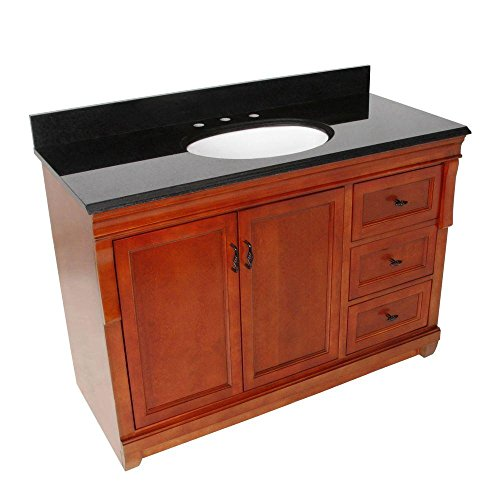"Foremost Groups NACABKR4922 Naples 49"" W x 22"" D Vanity w..."
