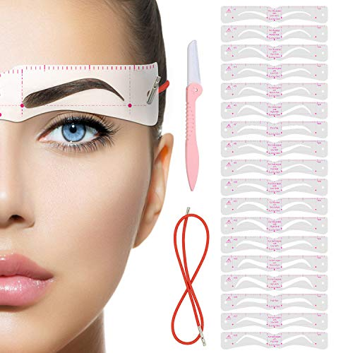 Stencil%EF%BC%8CEyebrow Extremely Elaborate Reusable Template product image