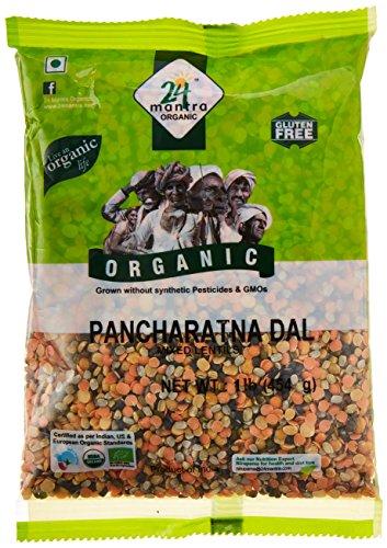 - 24 Mantra Organic Mixed Lentils (Pancharatna Dal) - 1 lbs