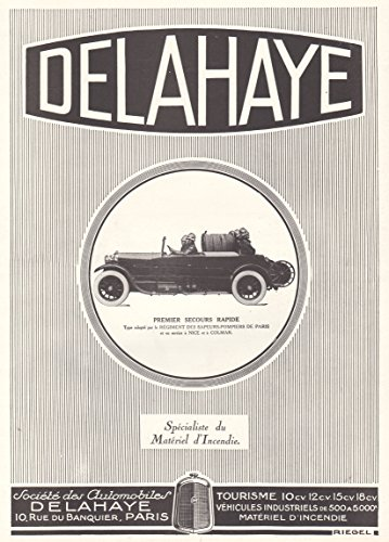 1927-print-ad-first-fire-fighting-pump-equipped-delahaye-auto-in-paris