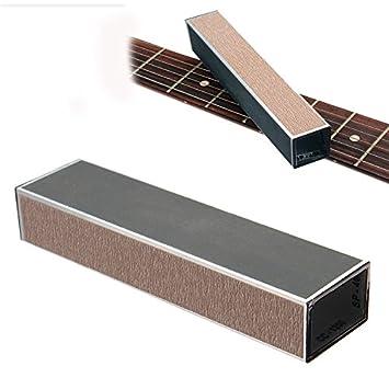 VIDOO Nivelador De Haz Lijado del Traste para Guitarra Luthier Bajo Herramienta: Amazon.es: Hogar