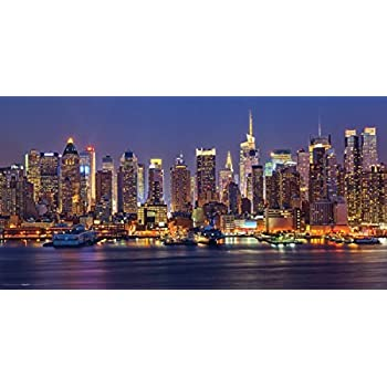 pyramid america new york city skyline brooklyn bridge photography giant poster. Black Bedroom Furniture Sets. Home Design Ideas