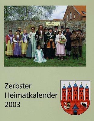 Zerbster Heimatkalender 2003