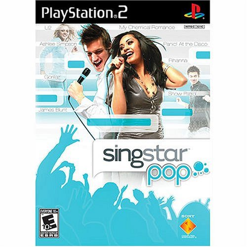 SingStar Pop - PlayStation 2 (Ps2 Mic Singstar)