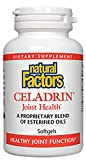 Natural Factors - Celadrin Joint Health 350mg, Supports Healthy Joint Function, 180 Soft Gels