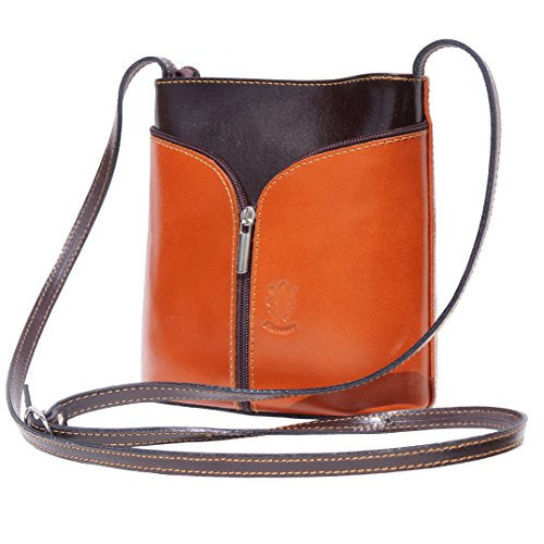 Calfskin Purse Bag - Patent Genuine Leather Crossbody women and purses Handbags, Small Soft Italian calf skin leather with Long adjustable Shoulder Strap, Inside Pocket