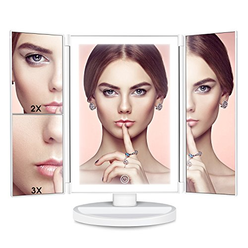 Makeup Mirror Vanity Mirror with Lights - Clarity LED Lighte