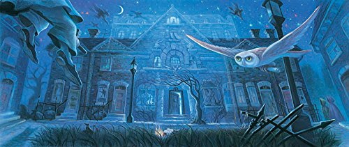 Harry Potter Number 12 Grimmauld Place Mary GrandPre AP 50 12x29 Canvas Signed NEW - Limited Numbered Edition Ap