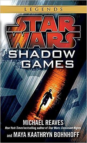 c2492bc71a9 Amazon.com  Shadow Games (Star Wars) (Star Wars - Legends) (9780345511201)   Michael Reaves