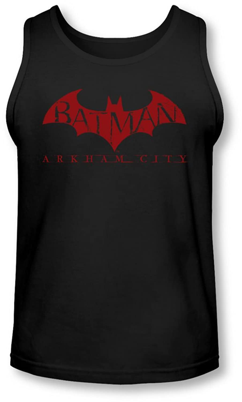 Arkham City - Mens Red Bat Tank-Top