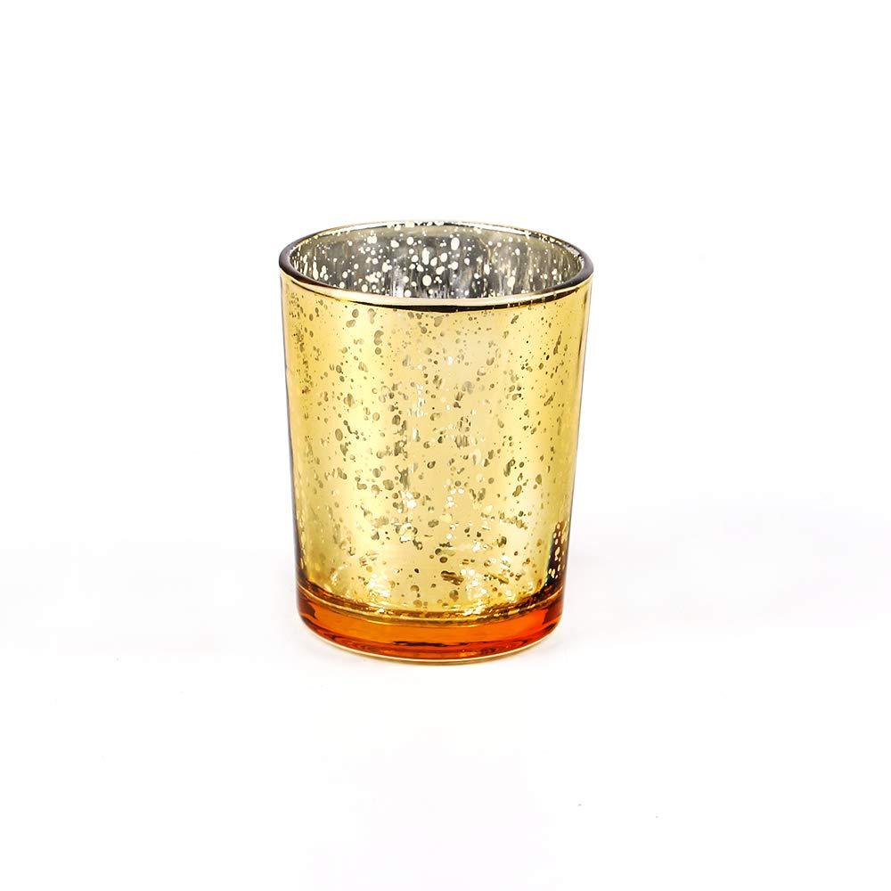 Excellent Designs Mercury Glass Votive Candle Holder – 2.1