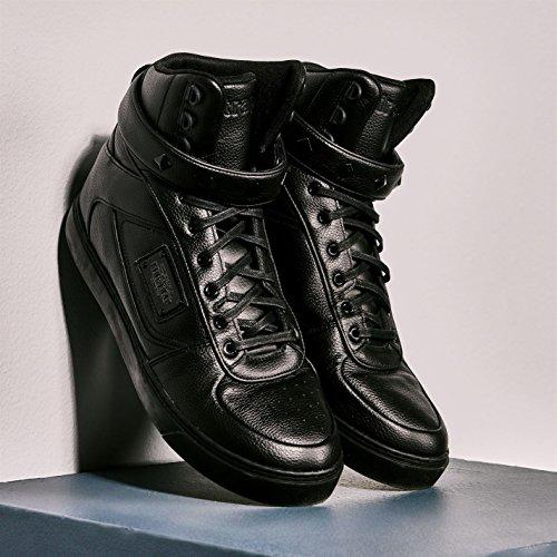 Firetrap Bliss II Hi décontracté Baskets pour homme BLK Baskets mode Sneakers Chaussures