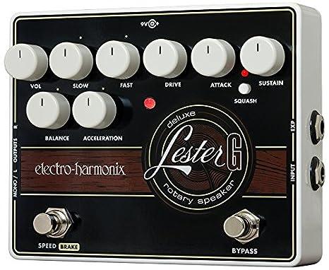 Electro Harmonix 665237 efecto de guitarra eléctrica con sintetizador Filtro Lester G: Amazon.es: Instrumentos musicales