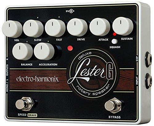 (Electro-Harmonix Lester G Deluxe Rotary Speaker Pedal)