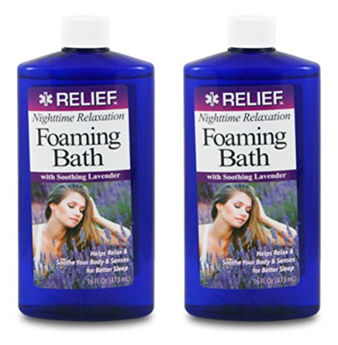 Lot of 2 Foaming Lavender Bath Soap 16 oz/each bottle