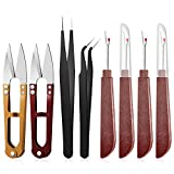 8 Pieces Sewing Seam Ripper Kit, Include Seam
