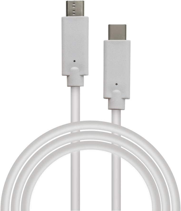 USB C to USB C Data Cable (3.3ft) Power Delivery PD Charging for Apple MacBook, Huawei Matebook, iPad Pro 2018, Chromebook, Switch, and More Type-C Devices/Laptops