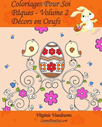 Amazon Com Coloriages Pour Soi Pâques Volume 2 25