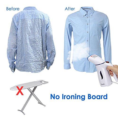 Aicok Clothes Steamer, Mini Travel Garment Stea...