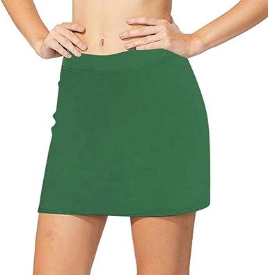 Suces – Pantalones cortos de deporte 2 en 1 para mujer, monocromos ...