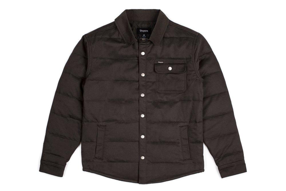 Brixton Men's Cass Jacket, Black/Black, 2X-Large by Brixton