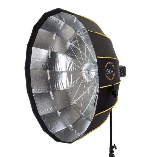 Glow EZ Lock Collapsible Silver Beauty Dish (42'')