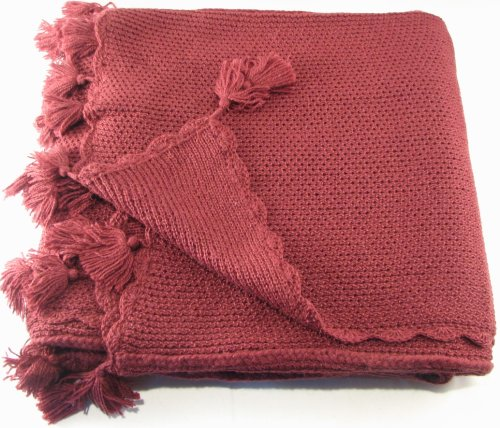 Luxurious Alpaca Throw - Handwoven in Raspberry
