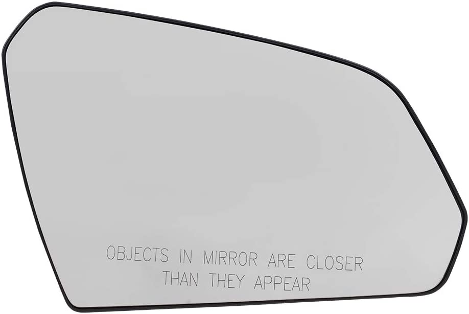 Brock Replacement Passenger Mirror Glass w/Base Heated compatible with 15-19 Sonata