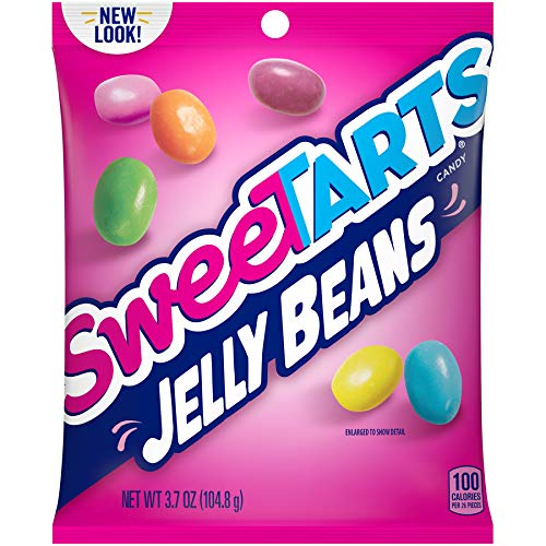 (SweeTARTS Jelly Beans 3.7 Ounce (Pack of 12)Original Candy, 1.8 Ounce Roll (Pack of 36))